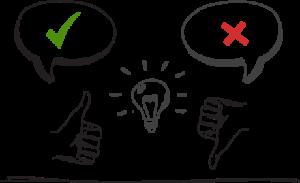 Les feedbacks permettent d'arriver à une interface API très efficace.